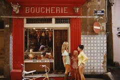 Boucherie St-Tropez (Limited Edition Estate Print)