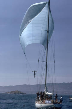 Spinnaker Sailing, Slim Aarons Estate Edition, free shipping
