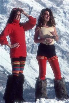 Winter Wear, Cortina d'Ampezzo  (Slim Aarons Estate Edition)