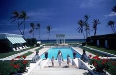 Neo-classical Pool, Slim Aarons Estate Edition