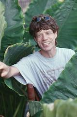 Jagger on Holiday