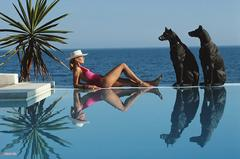 Marbella Pool, Slim Aarons Estate Edition, free shipping