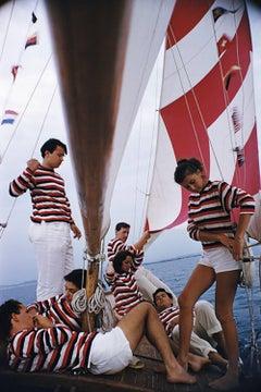 "Slim Aarons ""Adriatic Sailors' (Slim Aarons Estate Edition)"