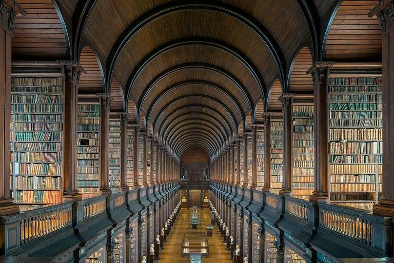 Reinhard Görner Color Photograph - The Long Room V, Trinity College Library, Dublin Ireland