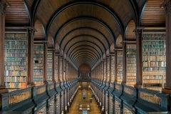 The Long Room V, Trinity College Library, Dublin Ireland