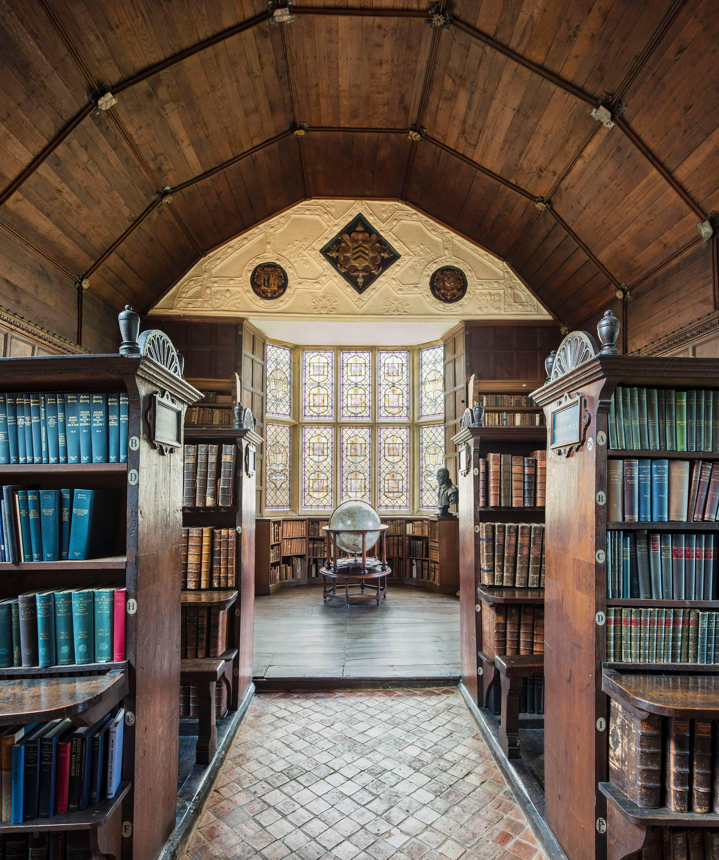 The Blue Books, The Upper Library, Oxford, England
