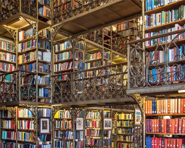 Reinhard Görner Color Photograph - Uris Library, Ithaca