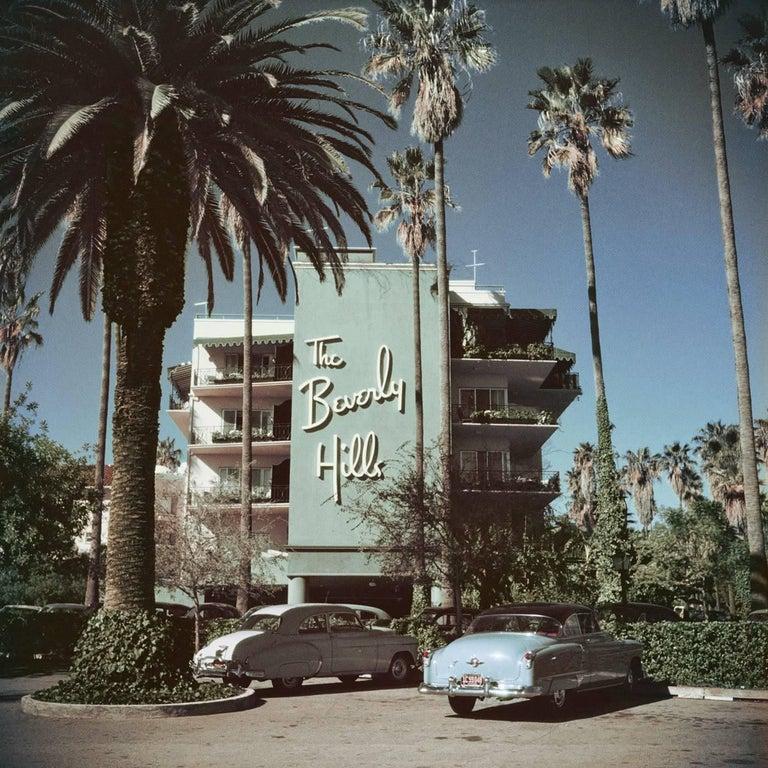 Slim Aarons 'Beverly Hills Hotel' (Slim Aarons Estate Edition) - Photograph by Slim Aarons
