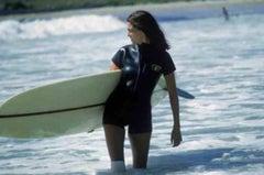 Slim Aarons 'Minnie Cushing Surfing' (Slim Aarons Estate Edition)