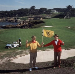 Slim Aarons, ;Golfing Pals' (Slim Aarons Estate Edition)