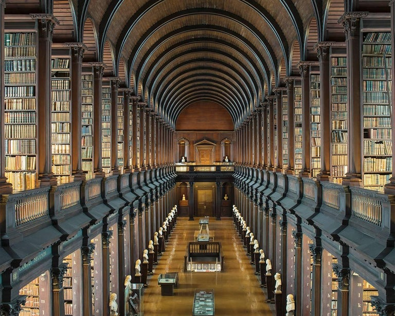 Reinhard Görner Landscape Photograph - The Long Room, Trinity College Library, Dublin Ireland