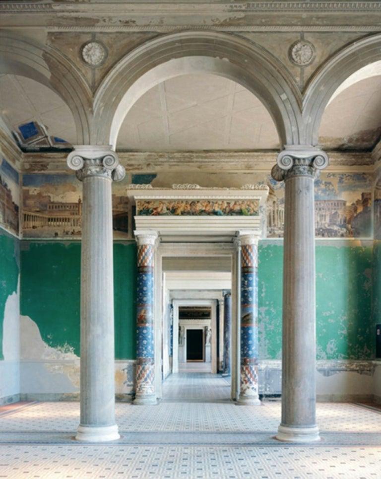 Reinhard Görner: Colored Columns III: Neue Museum, Berlin - Photograph by Reinhard Görner