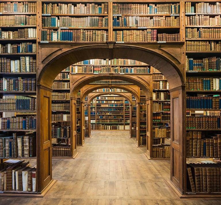 Reinhard Görner: Library Hall, Upper Lusatian Library of Sciences, Görlitz - Photograph by Reinhard Görner