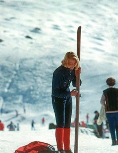 Slim Aarons: Verbier Skier (Slim Aarons Estate Edition)