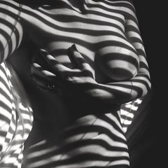 Savannah Spirit Feeling Hollyweird (Black and White Nude Photography, B&W)