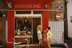 Slim Aarons Saint-Tropez Boucherie, French Riviera (Slim Aarons Estate Edition)