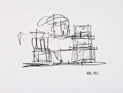 Study for a New Frank Gehry House