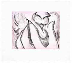 Soft Ground Etching-Lavender