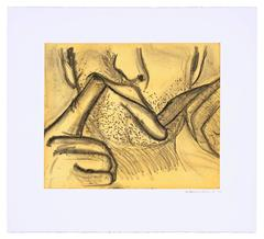 Soft Ground Etching - Yellow