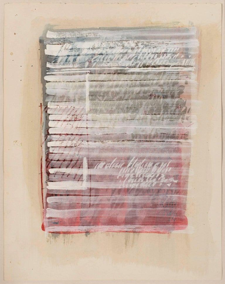 George Deem Abstract Drawing - Untitled
