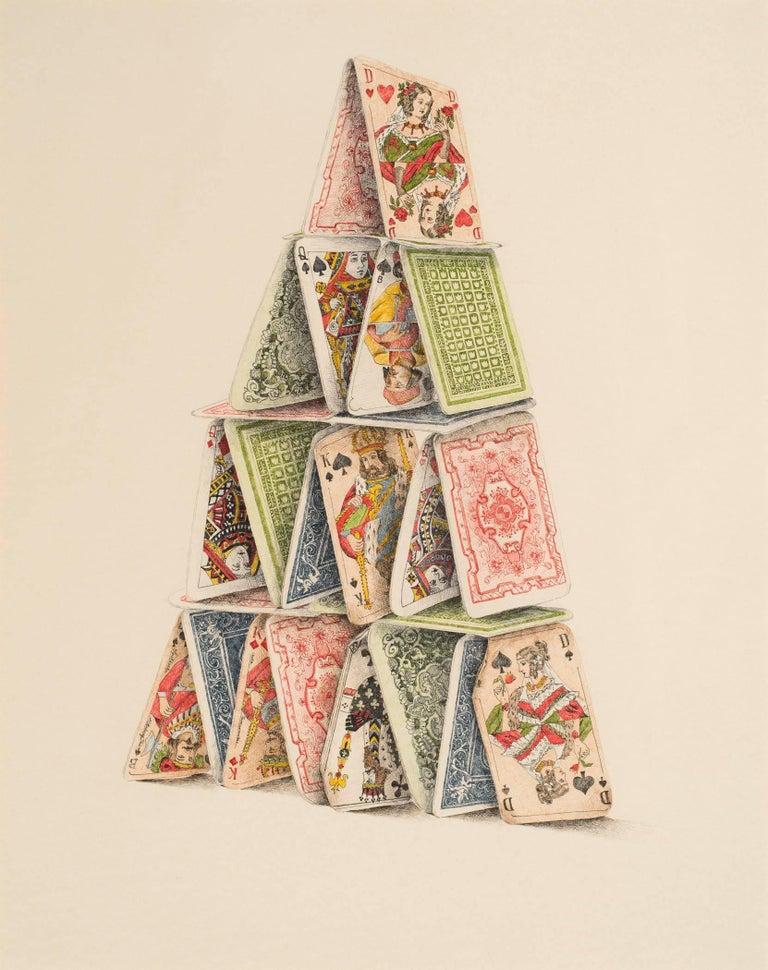 Dalia Ramanauskus Still-Life - Card Castle