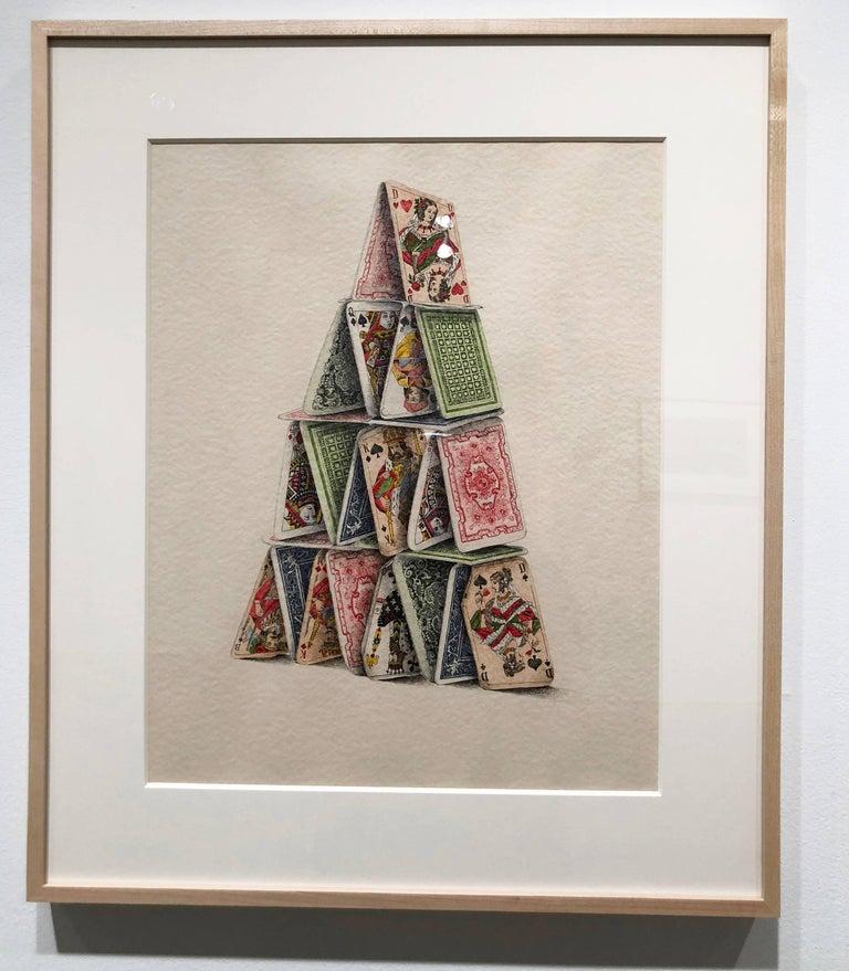 Card Castle - Art by Dalia Ramanauskus
