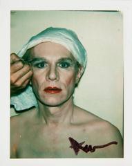 Self-Portrait in Drag Make Up