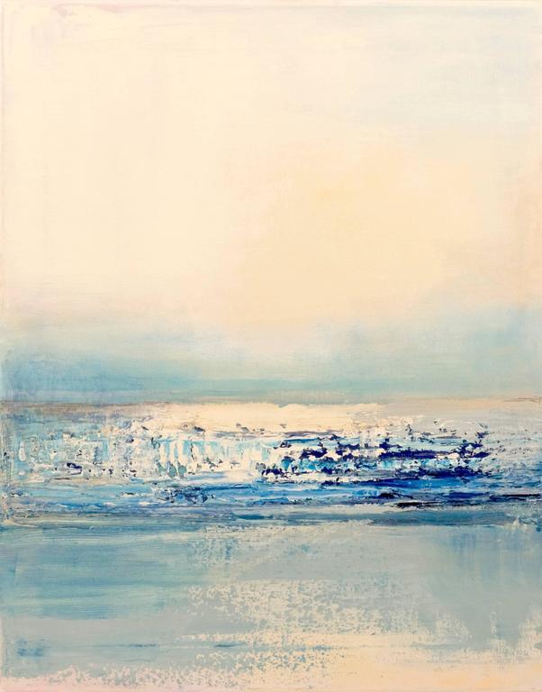 Barbara Sussberg Landscape Painting - Tides II