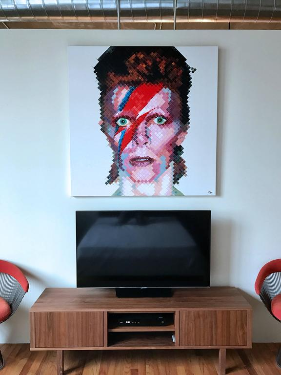 David Bowie - Painting by Charlie Hanavich