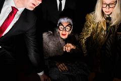 Dries Van Noten (with Iris Apfel)