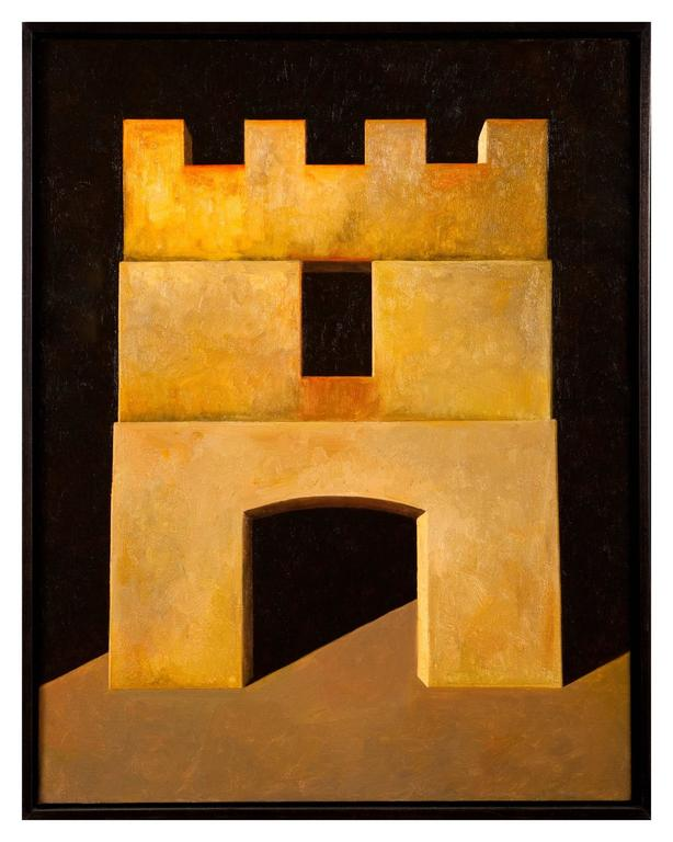 Fortress II - Painting by Edward Rice