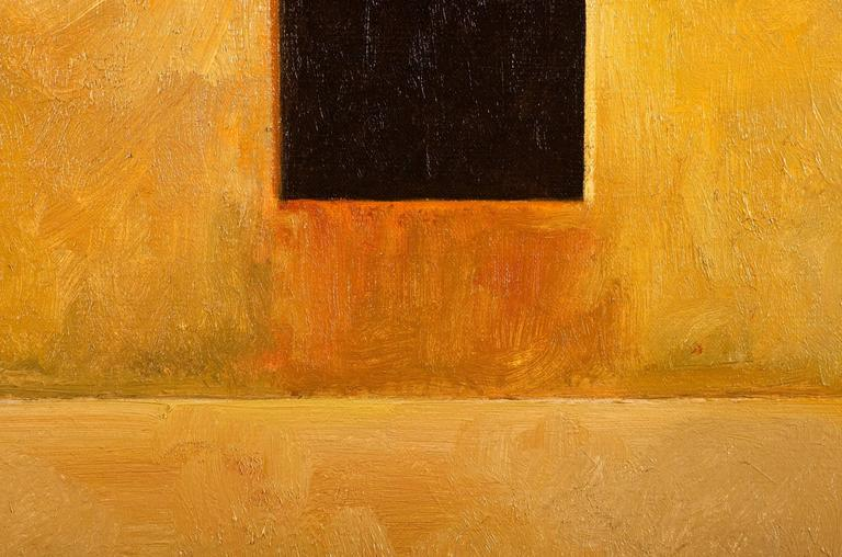 Fortress II - Contemporary Painting by Edward Rice