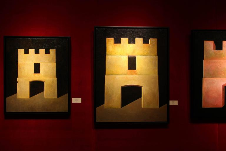 Fortress  - Painting by Edward Rice
