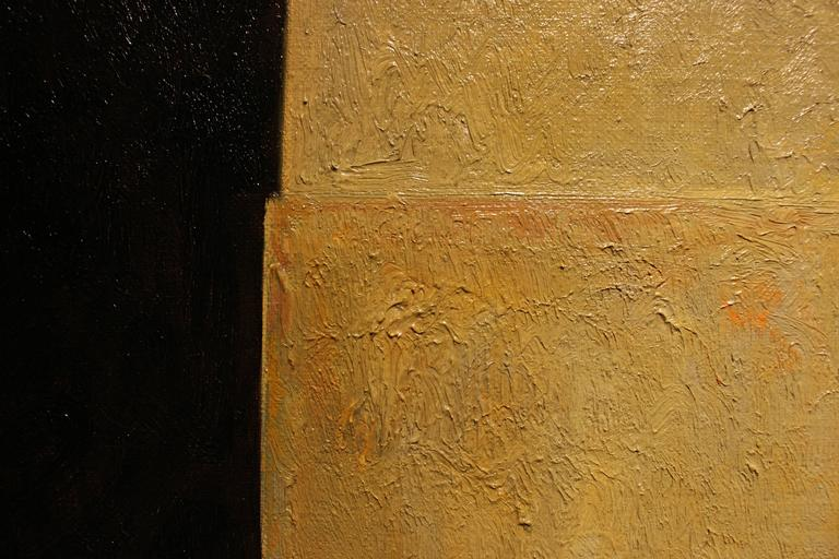 Fortress  - Brown Still-Life Painting by Edward Rice