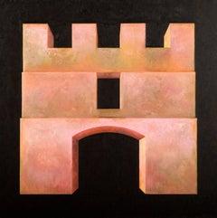 """Fortress XXXVI"" - Contemporary Realism - Arch - Georgio de Chirico"