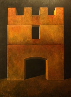 """Fortress XXXVII"" - Contemporary Realism - Arch - Georgio de Chirico"