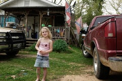 """""""Love Bug & Rebel Flag, Dallas County, AL"""" - Southern Documentary Photography"""