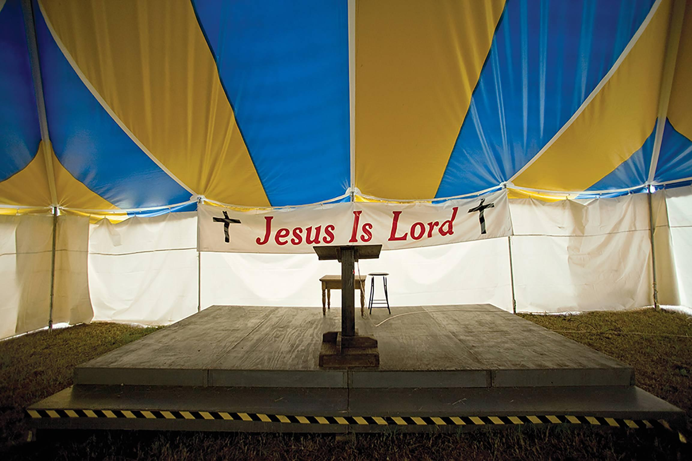 """""""Jesus Is Lord, Dallas County, AL"""" - Southern Photography - Christenberry"""