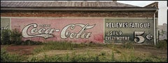 """""""Relieves Fatigue, Selma, AL"""" Southern Documentary Photography - Christenberry"""