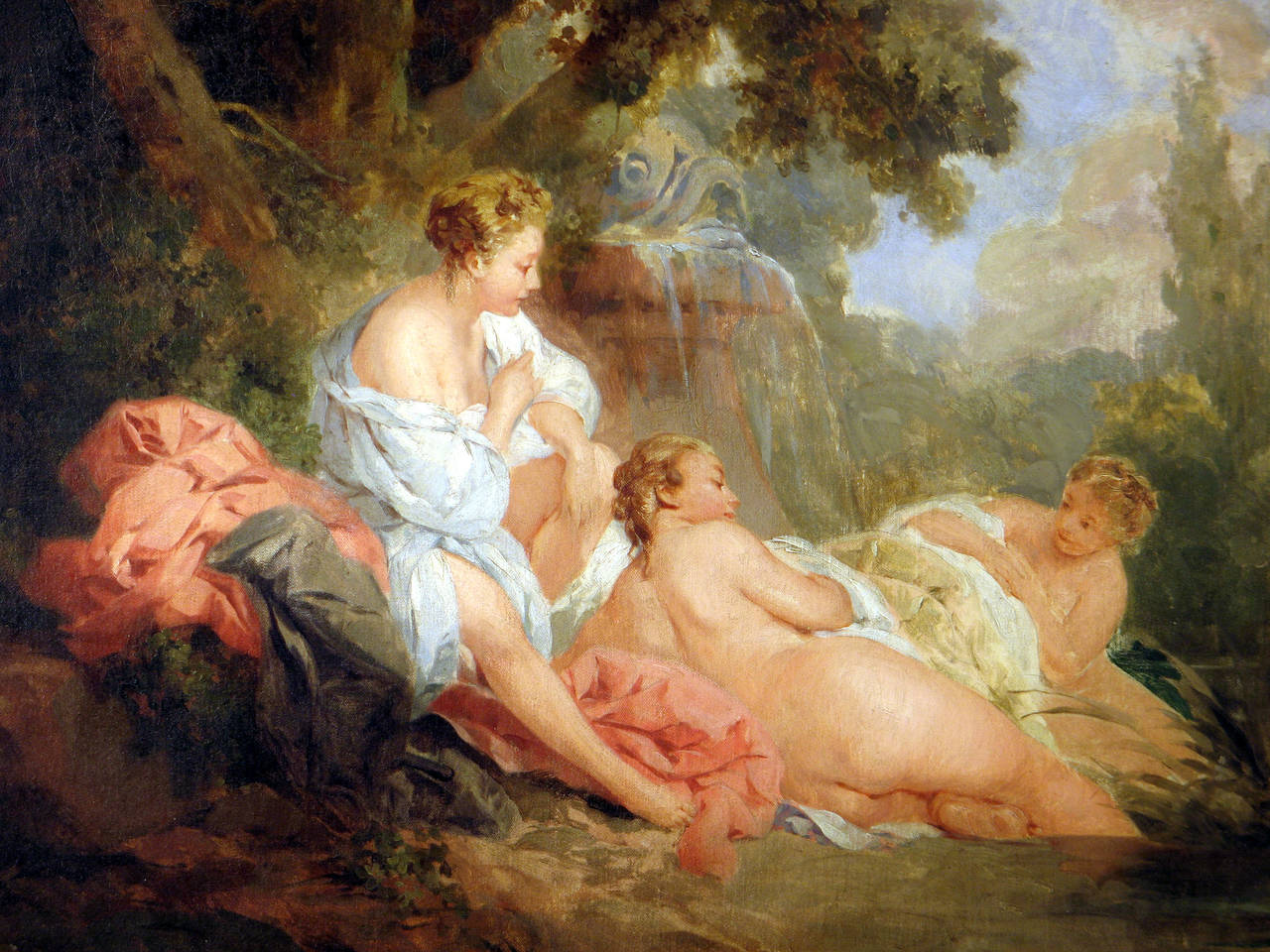 The Four Seasons: Summer - Rococo Painting by Unknown