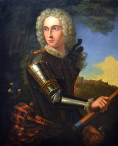 Portrait of a Gentleman Wearing Armor