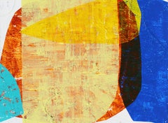 """""""Ace in the Hole"""" - Colorful Non-Objective Paintings - Sonia Delaunay"""