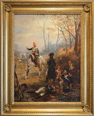 The Soldiers Rest, oil on canvas