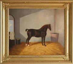 A Chestnut Hunter, Oil on canvas