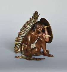 Native American Indian Sitting