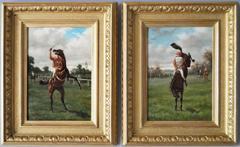 Horse Rearing & Horse Bucking