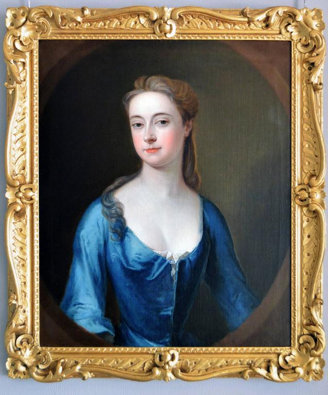Studio of Michael Dahl Portrait Painting - Portrait of a Lady