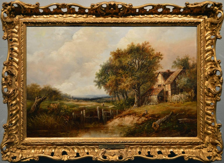 Joseph Thors View Near Guildford Surrey Painting For