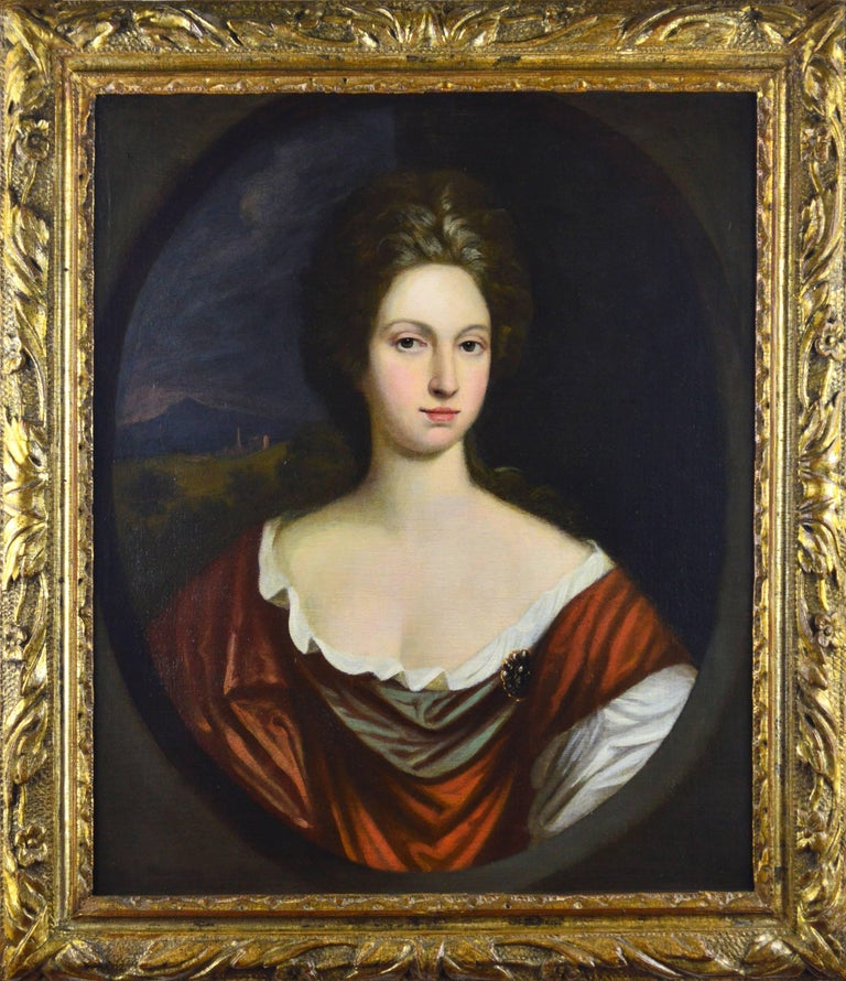 Circle of Sir Godfrey Kneller Portrait Painting - Portrait of a Lady