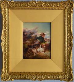Faithful Companions, oil on panel